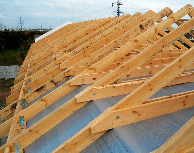 Строительство стропильной системы крыши под ключ