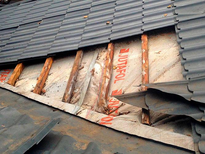 Ремонт крыши и кровли частного дома